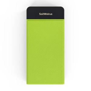 La mejor calidad de 2 salidas USB cargador inalámbrico Qi Banco de potencia para el iPhone y para el Samsung