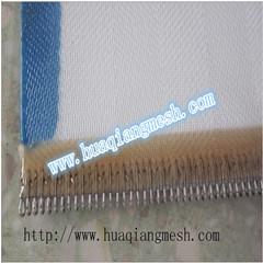 Tissus de déshydratation des boues de filtre à bande Appuyez sur la machine