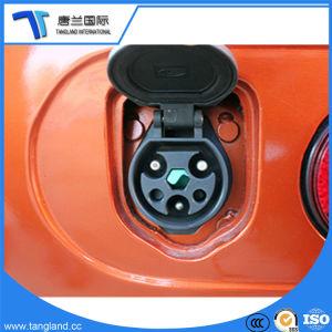 Moda aprobado dos asientos de coche eléctrico con la caja de carga