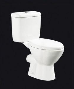 Diseño clásico Venta caliente baño dos piezas de porcelana (625)