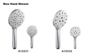 Salle de bains 3 Fonctions du produit 2018 Nouvelle douche à main avec le bouton/la porcelaine sanitaire