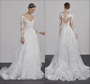 Vestidos de novia encaje boho
