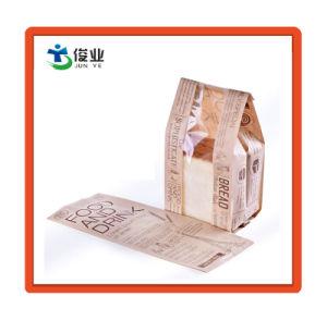 De Zak van het Document van Kraftpapier van de douane voor Verpakking van brood