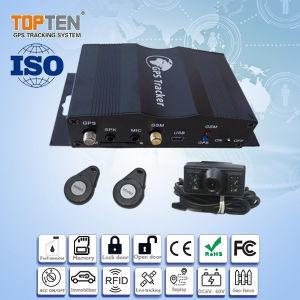 De bidirectionele Sprekende GPS Camera van de Steun van de Drijver van het Voertuig, de Controle van de Brandstof, geo-Omheining tk510-Ez