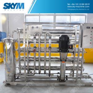 Sistema de purificação da água potável com raios UV e RO de máquina