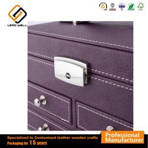 Multifunción de color púrpura joyas embalaje Caja de regalo