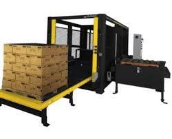コラムのPalletiserの単一のケースのパレットで運搬する機械自動Palletizer Fanuc Palletizer