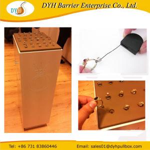 Mostrar anillo de cable Pullbox Antirrobo Recoiler atadura