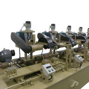 Tubo redonda grande máquina de polir o tubo de pressão vertical automática