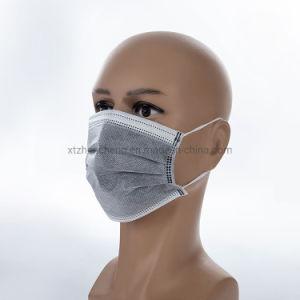 Earloop desechables de 4 capas de Carbón activado Carbón Anti-Virus bacterias máscara facial