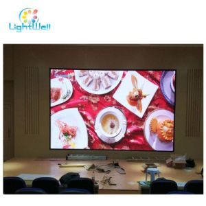 Lightwell P3 P2 P2.5 P4 P5 P6 RGB 풀 컬러 HD 실내 조정/단계 임대 LED 영상 스크린 전시