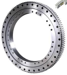 Única Linha quatro esferas de contato do rolamento giratório da Engrenagem Externa
