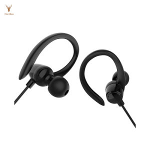 La ejecución de los auriculares Ear-Hook auricular estéreo de deportes
