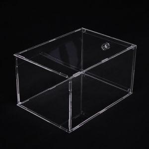 En acrylique transparent boutique de cadeaux Bacs Zone Affichages jouets Chaussures de cas