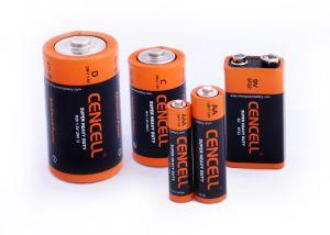 Superhochleistungsbatterie 6f22/9V