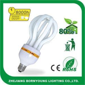 Fluorescente Lampen, Verlichting, de Spaarder van de Energie, Energie - het Licht van de besparing (lotusbloem 65W)