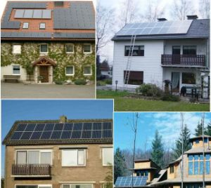 5kw 10kw 20kw haute efficacité du système de l'énergie solaire