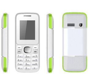 1.8  GSM van de Eigenschap Telefoon, Dubbele SIM, MP3/MP4, Camera, Bluetooth, FM