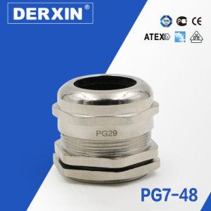 Pg48 на заводе прямой продажи высококачественных водонепроницаемый кабельный сальник металла
