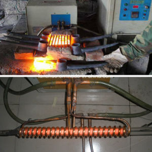 60kwボルトナットの熱い鍛造材の誘導加熱機械