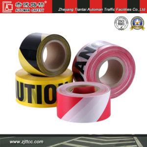 反射黒い/黄色の反射プラスチック安全注意テープ(CC-CT04)
