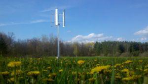 De verticale Turbine van de Wind van de As 5000W