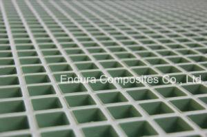 Prf antiglisse/GRP/Fiberglas renforcer grille en plastique