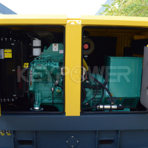 225kVA 침묵하는 유형 힘 엔진 디젤 엔진 발전기 세트