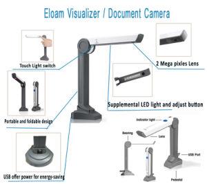 Le document, le visualiseur numérique USB appareil photo