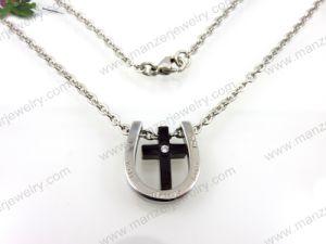 Form-Edelstahl Necklace für Cross Pendant