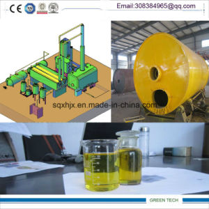 2015 Venda quente 10tpd resíduos da refinação de petróleo máquinas destilador