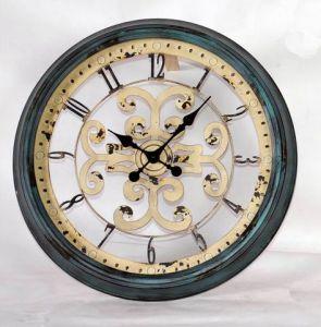 2017 Nuevo estilo de decoración Reloj de pared de metal