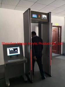 El fabricante vende detectores de metales directamente, mediante la detección de metales de puertas, las puertas de seguridad de detección de metales, paseo por el detector de metales