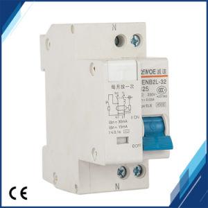 (CENB Dpnl2L-32) 1P+N 25A 230V~ 50Hz/60Hz Disjuntor de Corrente Residual com curto-circuito e protecção diferencial