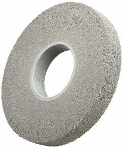 Não Tecidos de polimento de esmerilhamento abrasivo de Nylon rebarbar terminando a parte sanfonada roda para o aço inoxidável