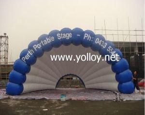 Портативный надувной купол оболочки палатка