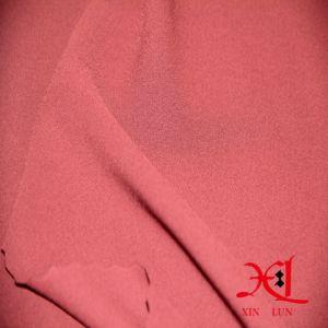 100%sólido tejido de seda Chiffon teñido de vestir