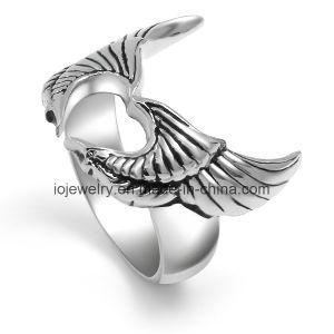 316L de Juwelen van de Fietser van de Douane van de Ring van het Roestvrij staal van de schedel