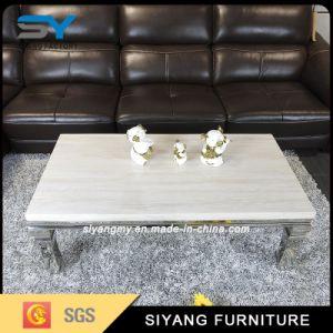 Reprodução de mármore de mobiliário antigo australiano mesa de café