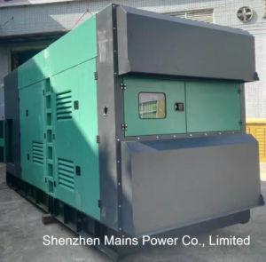 Stamfordの交流発電機のディーゼル発電機の防音のタイプとの550kVA Cummins Engine