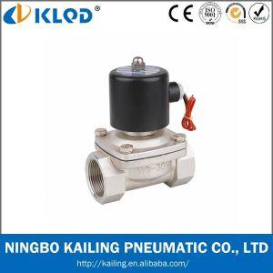 2wb digita ad alta qualità l'elettrovalvola a solenoide di controllo dell'acqua dell'acciaio inossidabile 24V