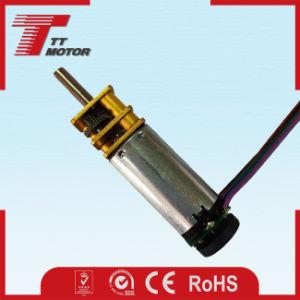 RoHS/CE mini eléctrico del motor de CC de engranajes para copiadoras y escáneres