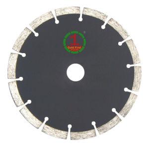 Super Qualidade Lâmina de serra circular de diamante para corte de granito e mármore, betão