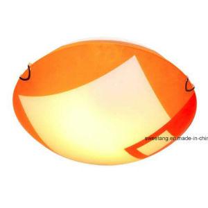 Luz da lâmpada de teto de vidro decorativo de iluminação interior para venda a quente