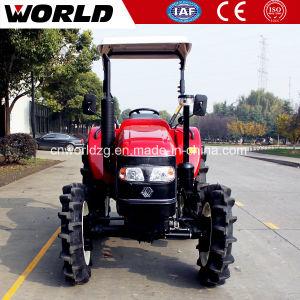 China maakte 4WD 2WD 70HP de Tractor van het Wiel