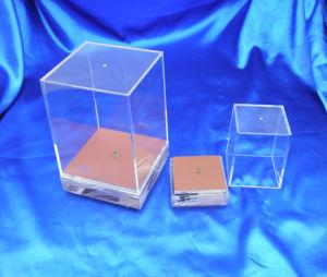 Personalizar el supermercado de acrílico transparente y almacenar la casilla Mostrar .
