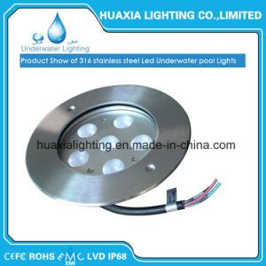 Indicatore luminoso di nuoto messo subacqueo del raggruppamento dell'acciaio inossidabile LED (IP68 impermeabilizzano)
