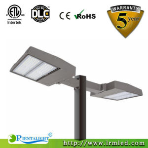 130lm/W Shoeboxの街灯ハウジングは鋳造物150W LEDの街灯を停止する