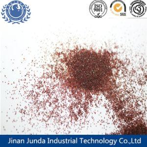 砂を吹き付ける金属部分のための赤いColor/30-60#/KocのガーネットかAlmandineまたは石のガーネット砂の研摩剤