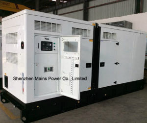 660kVA Perkinのスタンバイのディーゼル発電機のPekinsの無声ディーゼル発電機